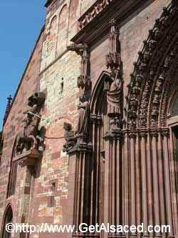 The Medieval Munster Kirche in Basel