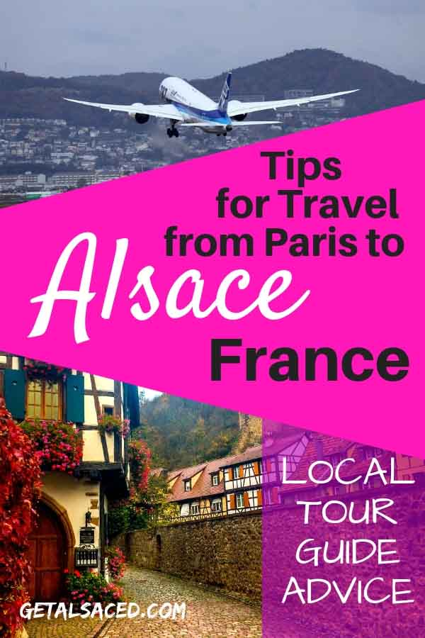 Are you flying to Paris France? Do you want to make a side trip to Alsace France by train? Here are some tips to make it easier! #alsace travel #parisalsace
