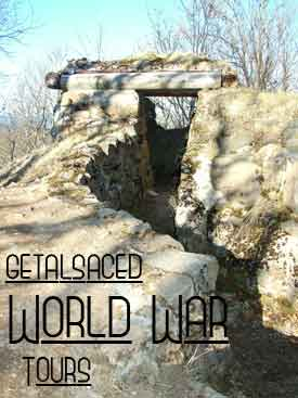 World War tours of Alsace