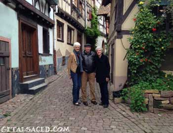 A beautiful village in Alsace