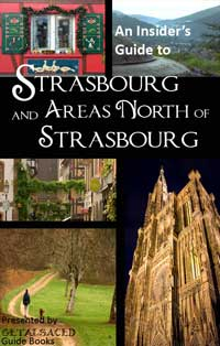 book cover for Strasbourg and Northern Alsace guide book
