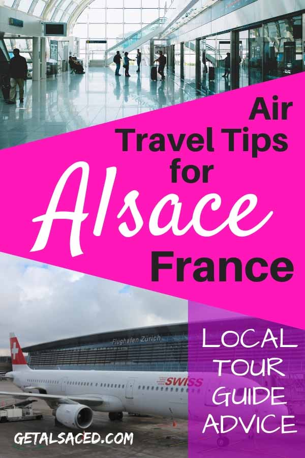 There are some tricks to flying to Alsace that will make your life much easier. Check out these air travel tips for Alsace France! #alsace travel #alsace france