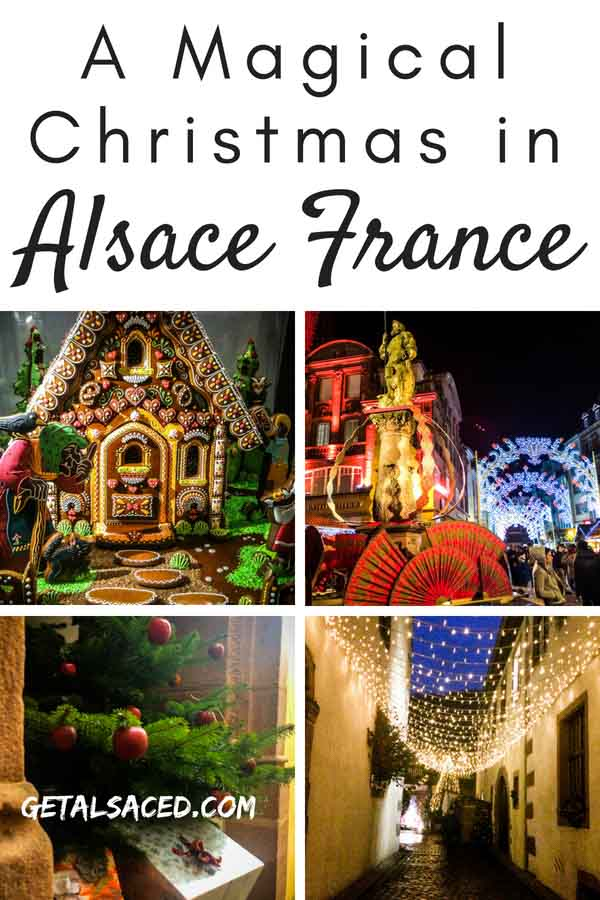 An Alsace Christmas in France is magical. Travel to Alsace France for a special Noel! #alsace christmas #alsace france #strasbourg christmas