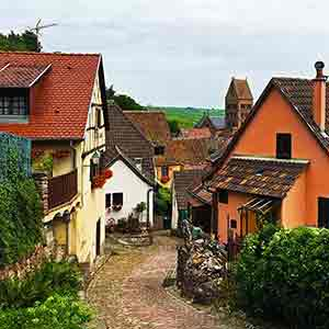 village in alsace france