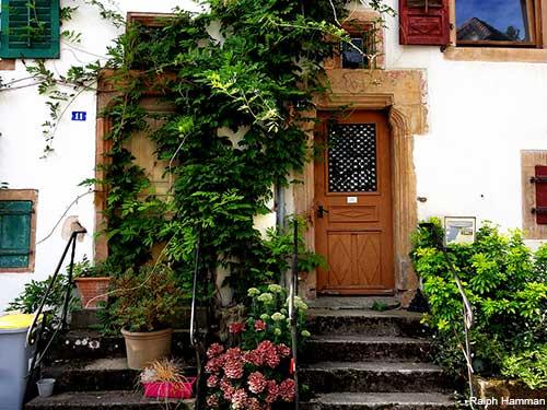 andlau village houses