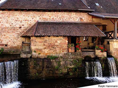 andlau town river