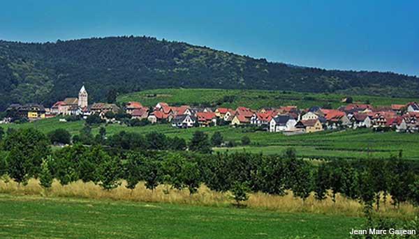 Alsace village of Itterswiller in France