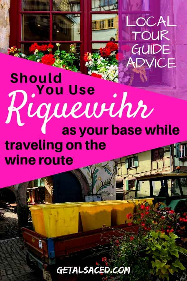 Have you heard of Riquewihr on the Alsace Wine Route? Want to know more about this super touristy village in France? #riquewihr #alsace #alsace wine route