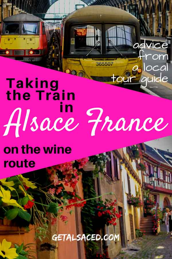 Taking the train in Alsace France: what French villages can you visit? Alsace travel tips for you. #alsace france #alsace travel #train travel europe