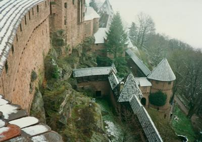 Haut Koeningsburg near Colmar