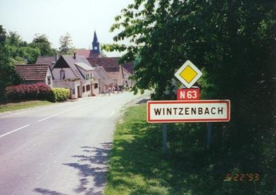 North side of Wintzenbach