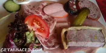 traditional alsace charcuterie
