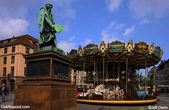 historic center of Strasbourg in Alsace France