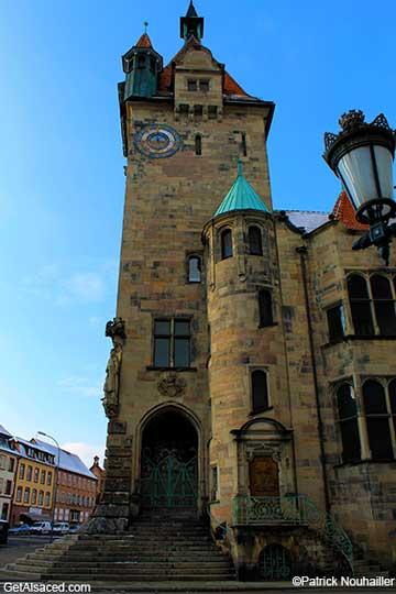 Historic building Alsace France