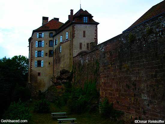 historic building small village alsace france