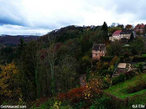 small village alsace france