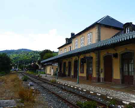 small train station in alsace france